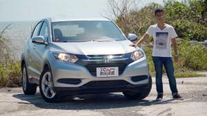 试驾本田HR-V小型SUV 安全配置丰富