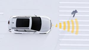 Jeep新指南者 前碰撞预警制动系统演示