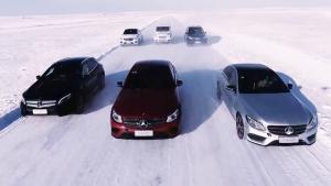 2017梅赛德斯-奔驰冰雪对决 无处不从容