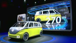 2017北美车展 大众I.D.Buzz概念车发布