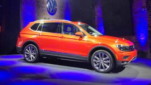 2017北美车展 中型SUV大众途观Allspace