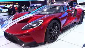 2017北美车展 2018款福特GT量产版发布
