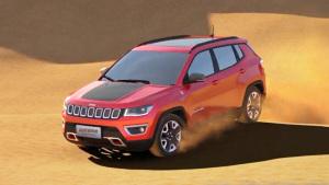 国产Jeep指南者 松软沙石路面通过性强