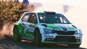 斯柯达晶锐拉力赛车 WRC赛场一展风姿