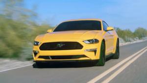 2018款福特Mustang 搭载10速自动变速箱