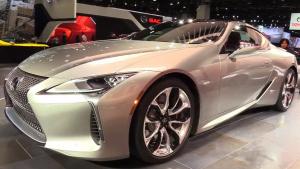 2017北美车展 2018款雷克萨斯LC500发布