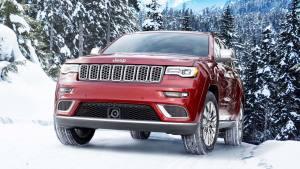 2017款Jeep大切诺基 雪地急驰抓地力强