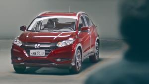 2016款本田HR-V小型SUV 视野更宽阔
