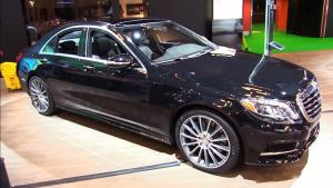 2017款奔驰S550 搭载4MATIC四驱系统