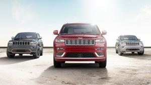 2017款Jeep大切诺基 外观细节调整