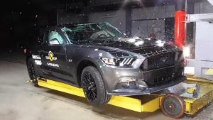 福特Mustang性能跑车 E-NCAP碰撞测试