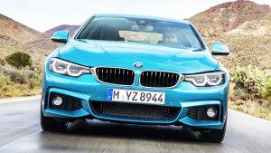 全新宝马4系双门轿跑 动力性能提升