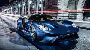2017款福特GT 最高时速可达348km/h