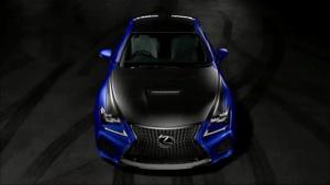 2017款雷克萨斯RC F 车身配碳纤维组件