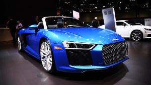 2017芝加哥车展 奥迪R8 V10 Spyder登场