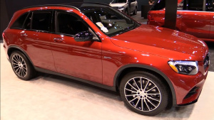 2017芝加哥车展 2017款奔驰AMG GLC43