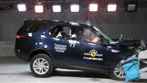 全新路虎新一代发现 E-NCAP碰撞测试