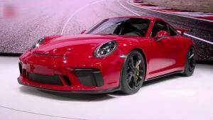 2017日内瓦车展 新款保时捷911 GT3发布