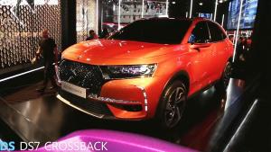 2017日内瓦车展 DS7 Crossback亮相