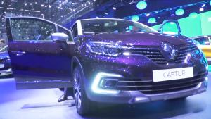2017日内瓦车展 全新雷诺卡缤正式发布