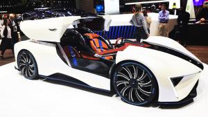 2017日内瓦车展 泰克鲁斯·腾风GT96
