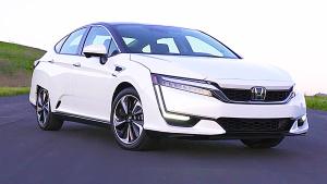 2017纽约车展 本田Clarity燃料车将亮相