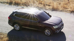 上汽大众首款大型SUV途昂 3月29日上市