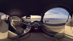 奔驰SLC敞篷版 全景VR模拟驾驶震撼感官