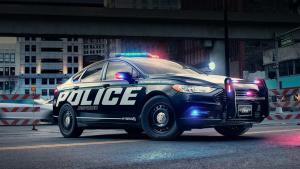 福特首推混动版警车 节能环保动力强劲