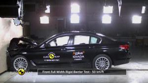 宝马5系 E-NCAP碰撞测试获五星安全