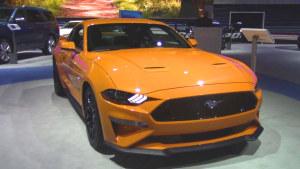 2017纽约车展 2018款福特Mustang亮相