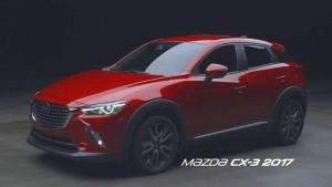 2017上海车展 全新马自达CX-3国内首发