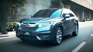 全新本田冠道豪华SUV 配备LED组合尾灯