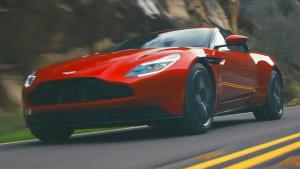 红色猛兽 2017款阿斯顿·马丁DB11展示