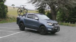 福特Ranger 强悍轻型载重卡车变形版