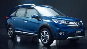 全新本田BR-V小型SUV 采用三排七座设计