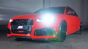 ABT改装奥迪RS6 配夸张22寸GR合金轮毂