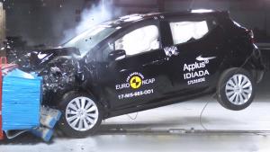 新一代日产玛驰 E-NCAP碰撞测试获四星