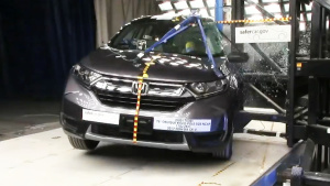 2017款本田CR-V NHTSA侧杆碰撞测试