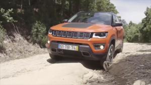全新Jeep指南者山路越野 专业动态底盘