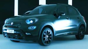 菲亚特500X S-Design 定位于跨界SUV