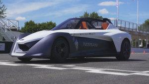 日产BladeGlider概念车 出征速度节