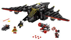 蝙蝠侠的黑科技 积木速拼超酷蝙蝠战机