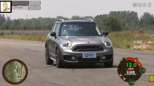 2017款MINI COUNTRYMAN 2.0T刹车测试