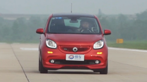 巴博斯smart forfour 100-0km刹车测试