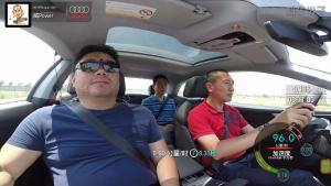 奥迪A5 Coupe 100-0km/h满载刹车测试