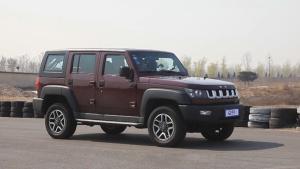 北京汽车BJ40紧凑级SUV 四百米加速测试