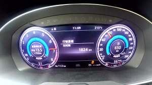 一汽-大众迈腾380T 百公里加速实测