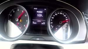一汽-大众迈腾330T 百公里加速实测