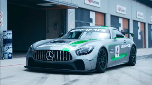 全新奔驰AMG GT4 最强公路赛车